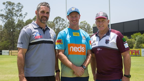 Burleigh, Tweed Seagulls renew affiliation with Titans