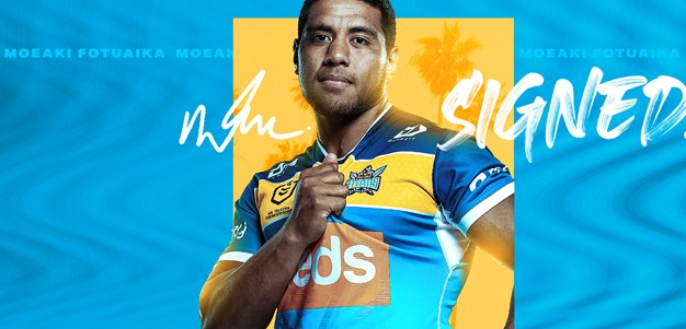 Fotuaika signs new deal with Titans
