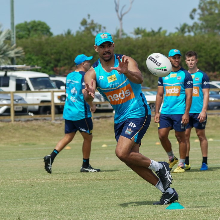 Spry ready to fly in 2021 with the Titans