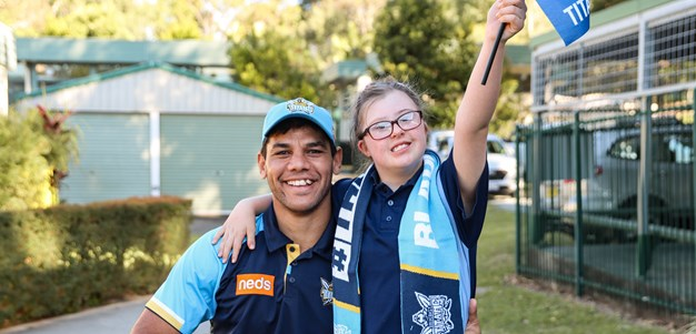 'Biggest fans' to run onto field with Titans