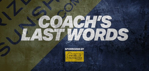 VIDEO: Coach Last Word Rd 5
