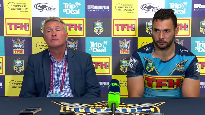 Titans press conference - Round 24; 2018