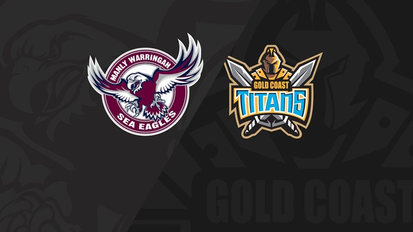 Full Match Replay: Sea Eagles v Titans - Round 23, 2018