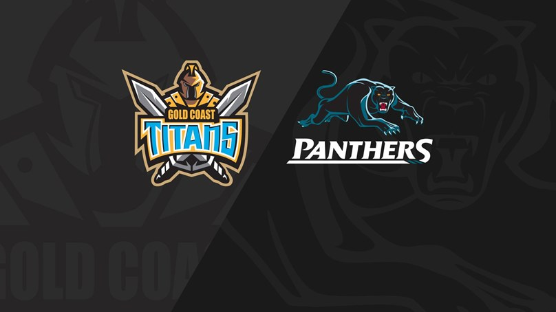 Full Match Replay: Titans v Panthers - Round 22, 2018