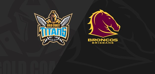 MATCH REPLAY: Titans v Broncos