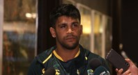 PEACHEY: I have signed with Titans, I'm going there
