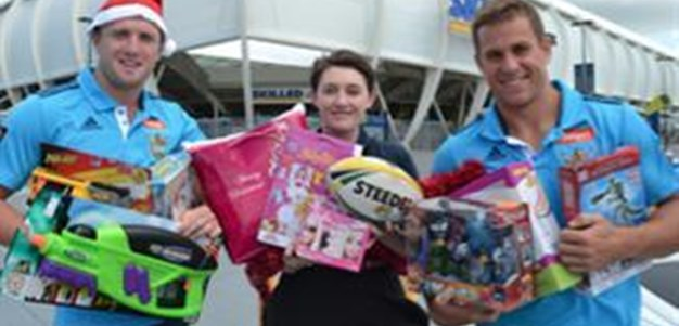 Titans support Smith Family Christmas Appeal