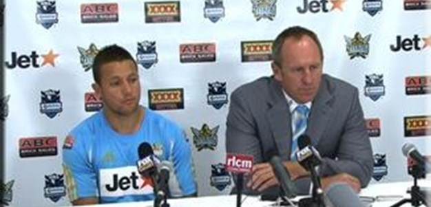 Titans V Storm Round 2 Post Match Press Conference