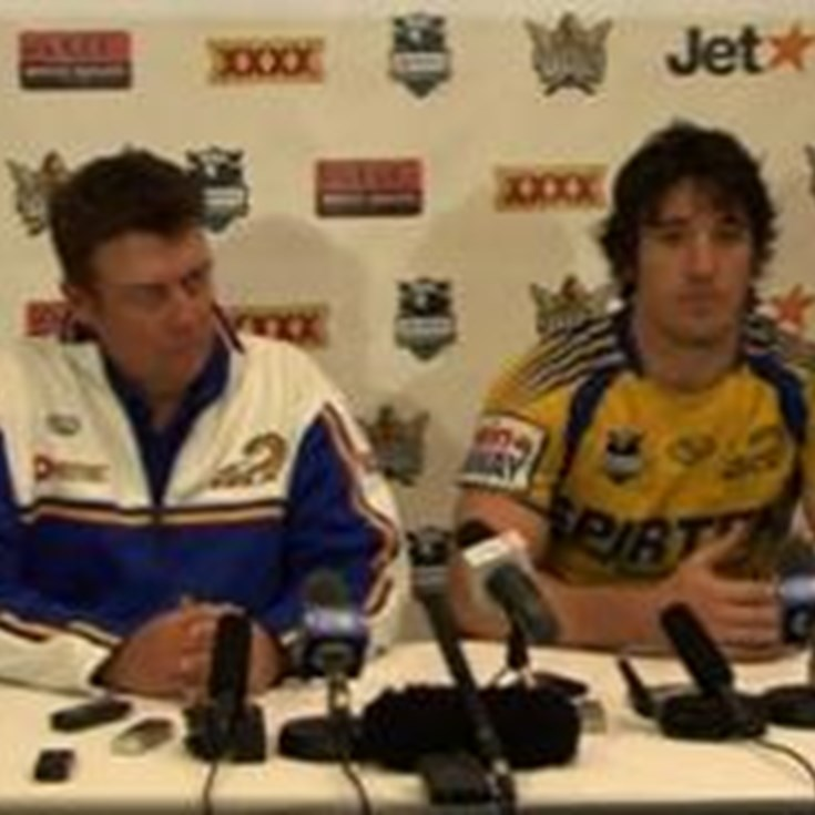 Parramatta V Titans Round 22 Post Match Press Conference
