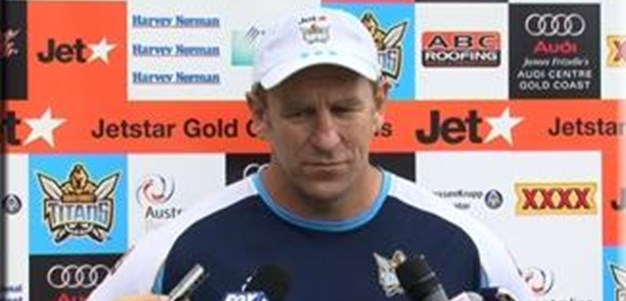 John Cartwright Game Day Press Conference
