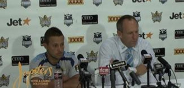 Titans V Dragons Post Match Press Conference