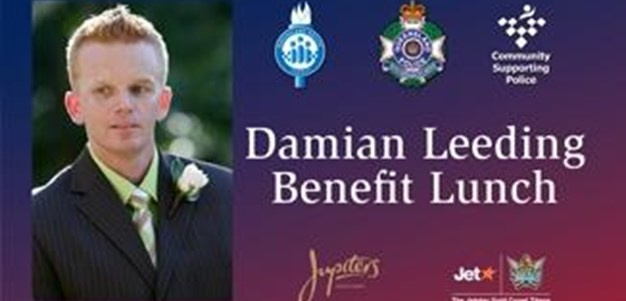 Damian Leeding Benefit Lunch