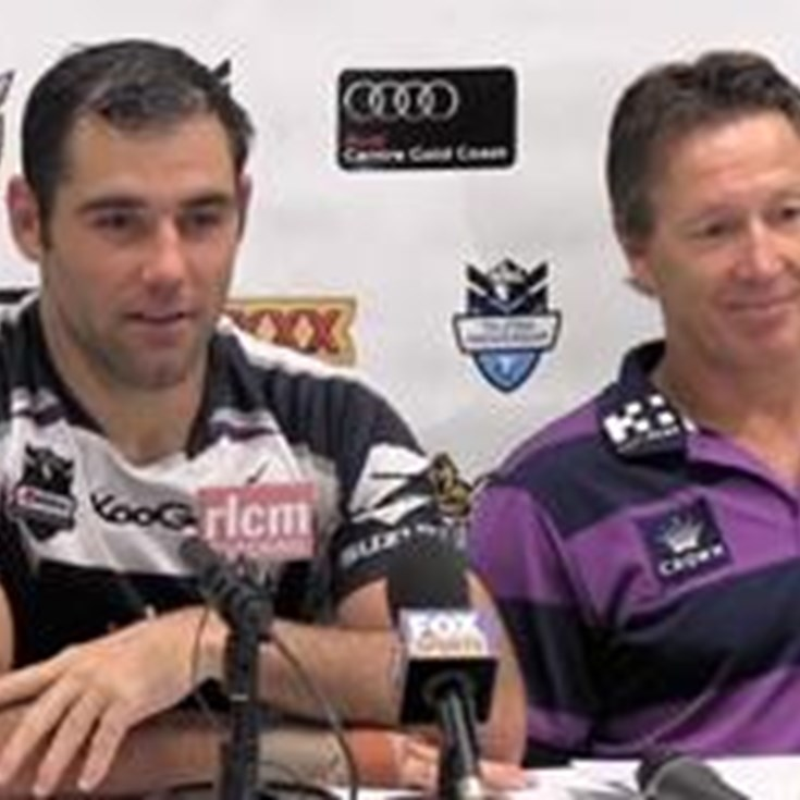 Storm Round 3 Post Match Press Conference