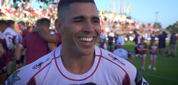 Post match: Burleigh Bears star half Jamal Fogarty