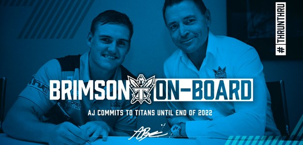 AJ Brimson Re-Signs With Titans