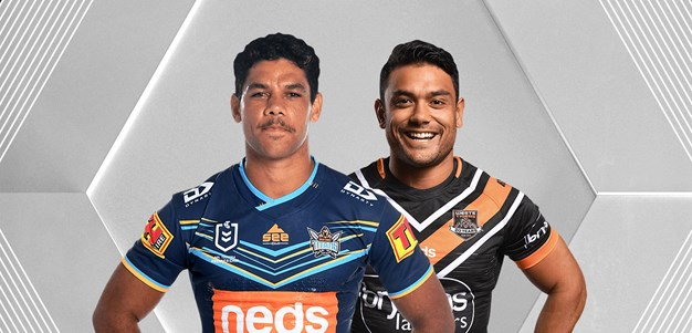 Titans vs Wests Tigers - Round 4