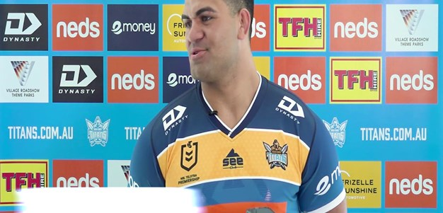 David Fifita First Press Conference
