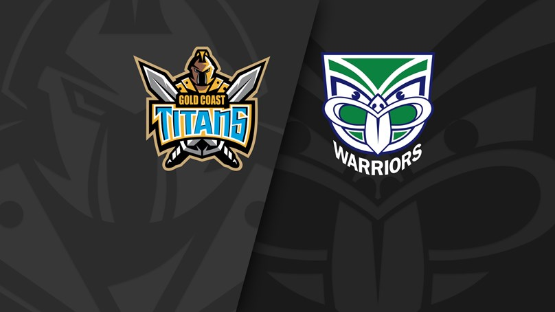 NRL Trials: Titans v Warriors