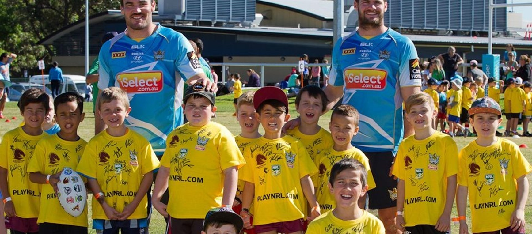 Titans NRL Holiday Clinic