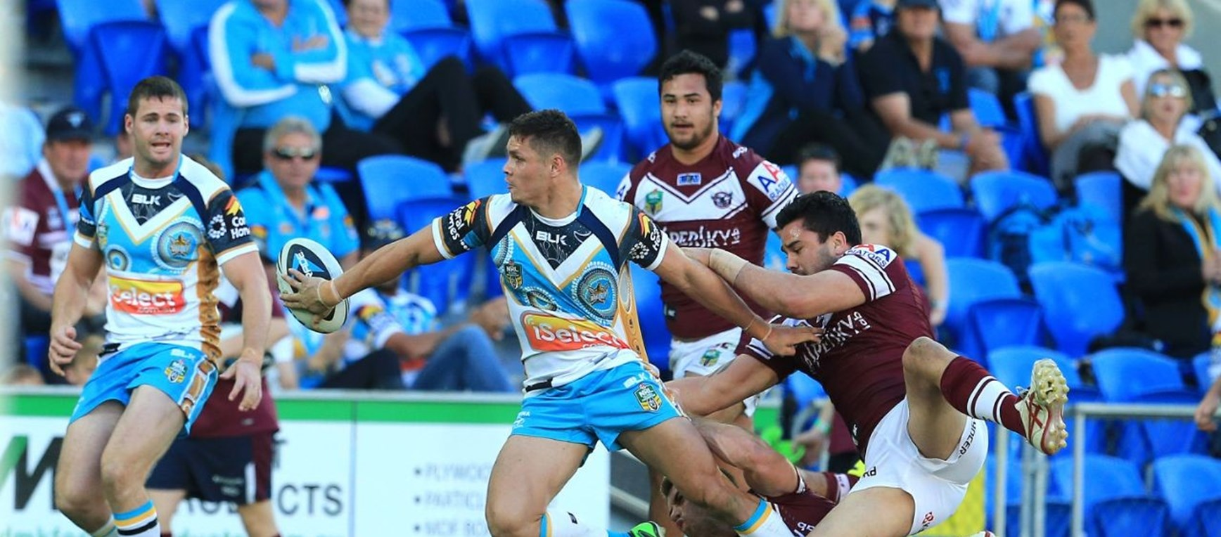 Titans v Sea Eagles Gallery