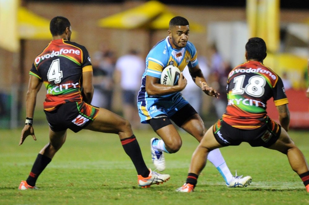 LEVA LI - GOLD COAST TITANS -  PHOTO: SCOTT DAVIS - SMP IMAGES .