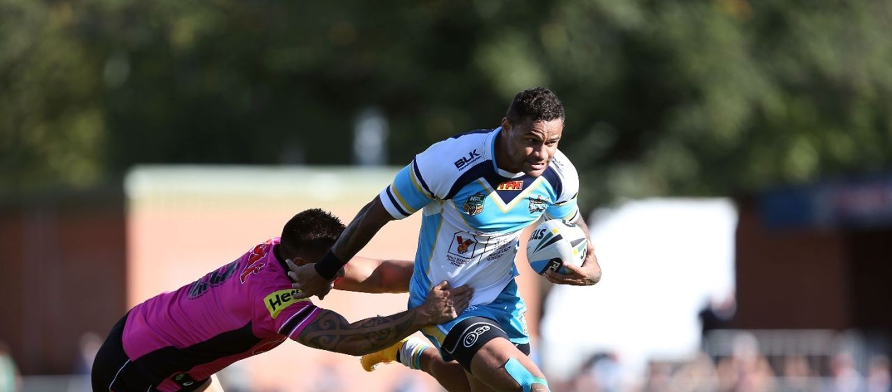 Photo Gallery: Rd 2 Panthers v Titans
