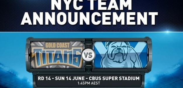 Rd 14 NYC Team Announcement