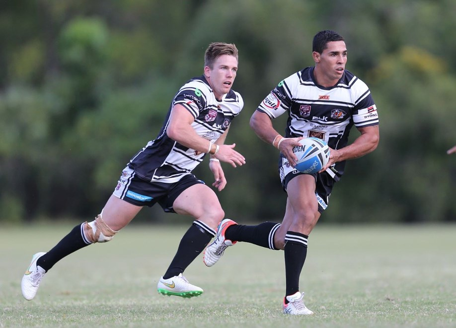 JAMAL FOGARTY ( TWEED HEADS SEAGULLS ) - PHOTO: SMP IMAGES - 12th April 2015, Action from the round 6 Queensland Rugby League (QRL) Intrust Super Cup clash between the Tweed Heads Seagulls v Sunshine Coast Falcons, played at Piggabeen Stadium, West Tweed Heads NSW.