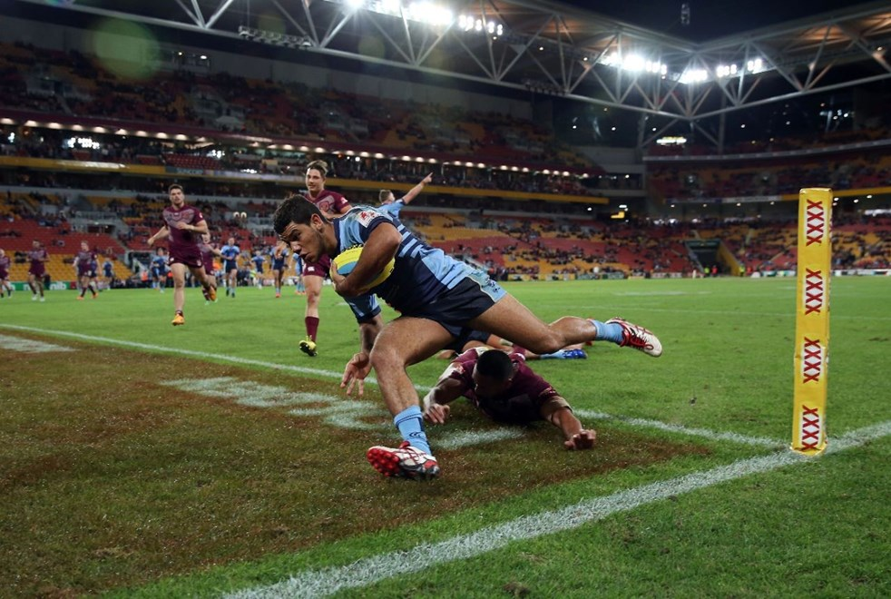 Brian Kelly  :Representative Rugby League - QLD V NSW U20s, Suncorp Stadium, Wednesday July 8th 2015. Digital Image by Robb Cox ©nrlphotos.com