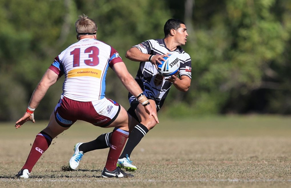 JAMAL FOGARTY (TWEED HEADS SEAGULLS) - PHOTO: SMP IMAGES/QRL MEDIA - 2nd August 2015, Action from the round 21 Queensland Rugby League (QRL) Intrust Super Cup clash between the Tweed Heads Seagulls v Mackay Cutters , played at Piggabeen Stadium, West Tweed Heads NSW.