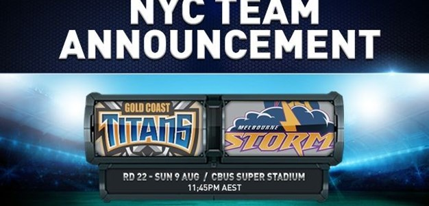Rd 22 NYC Team Announcement