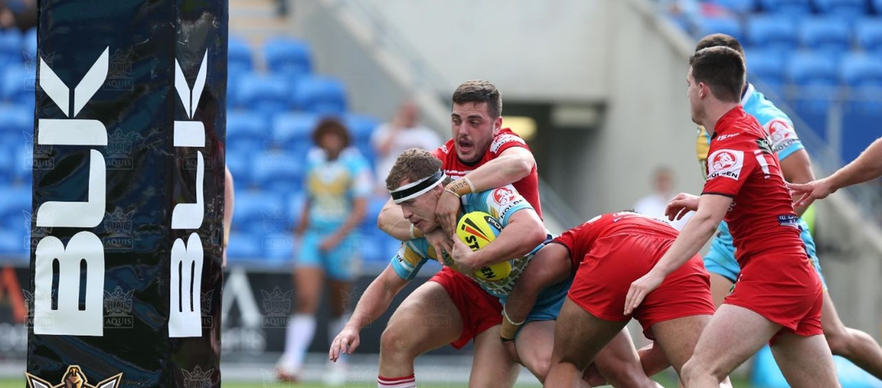NYC Rd 25 Titans v Dragons Gallery