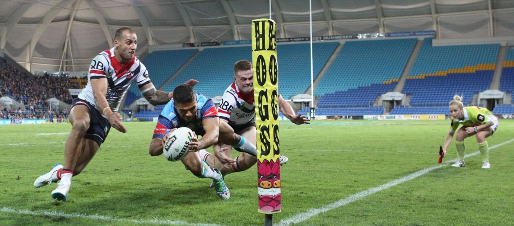NRL GALLERY: Titans v Roosters