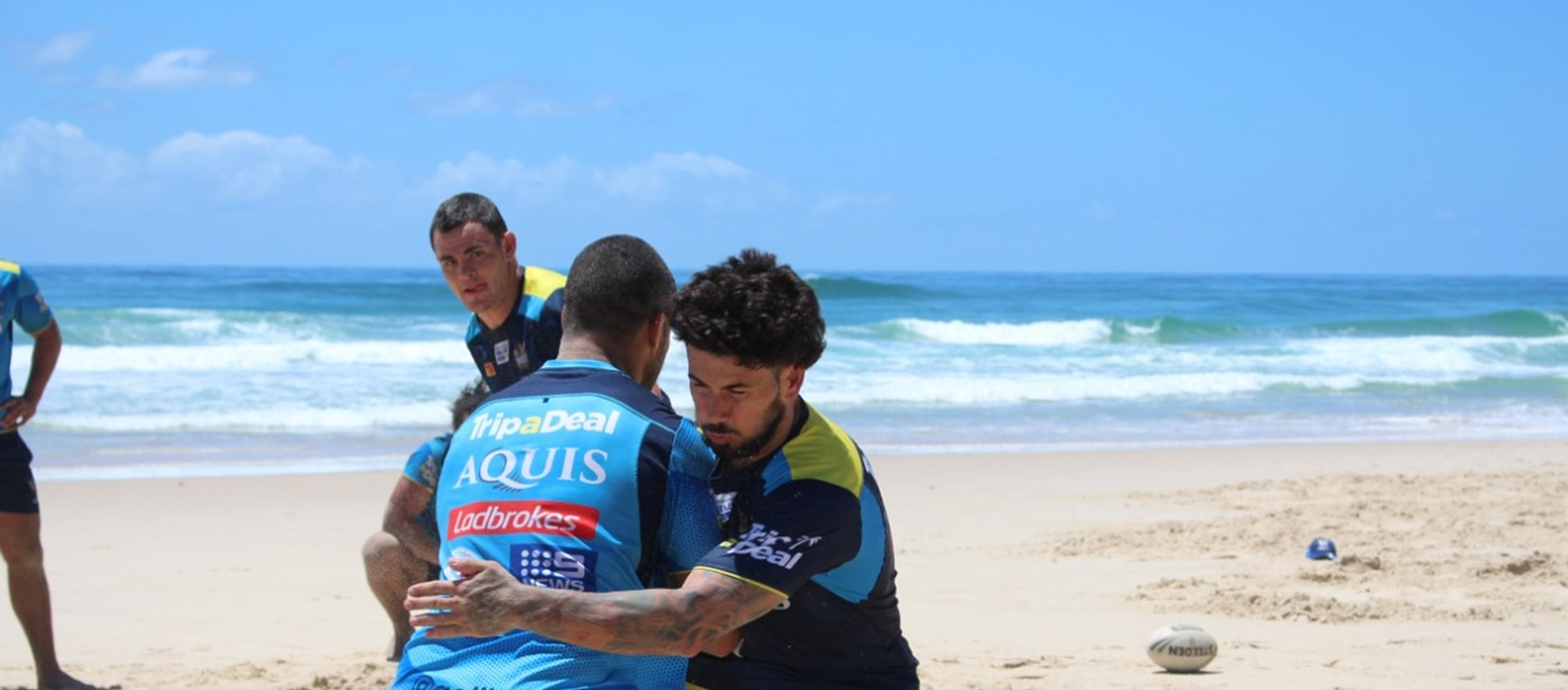 Boys take training to Casuarina Beach