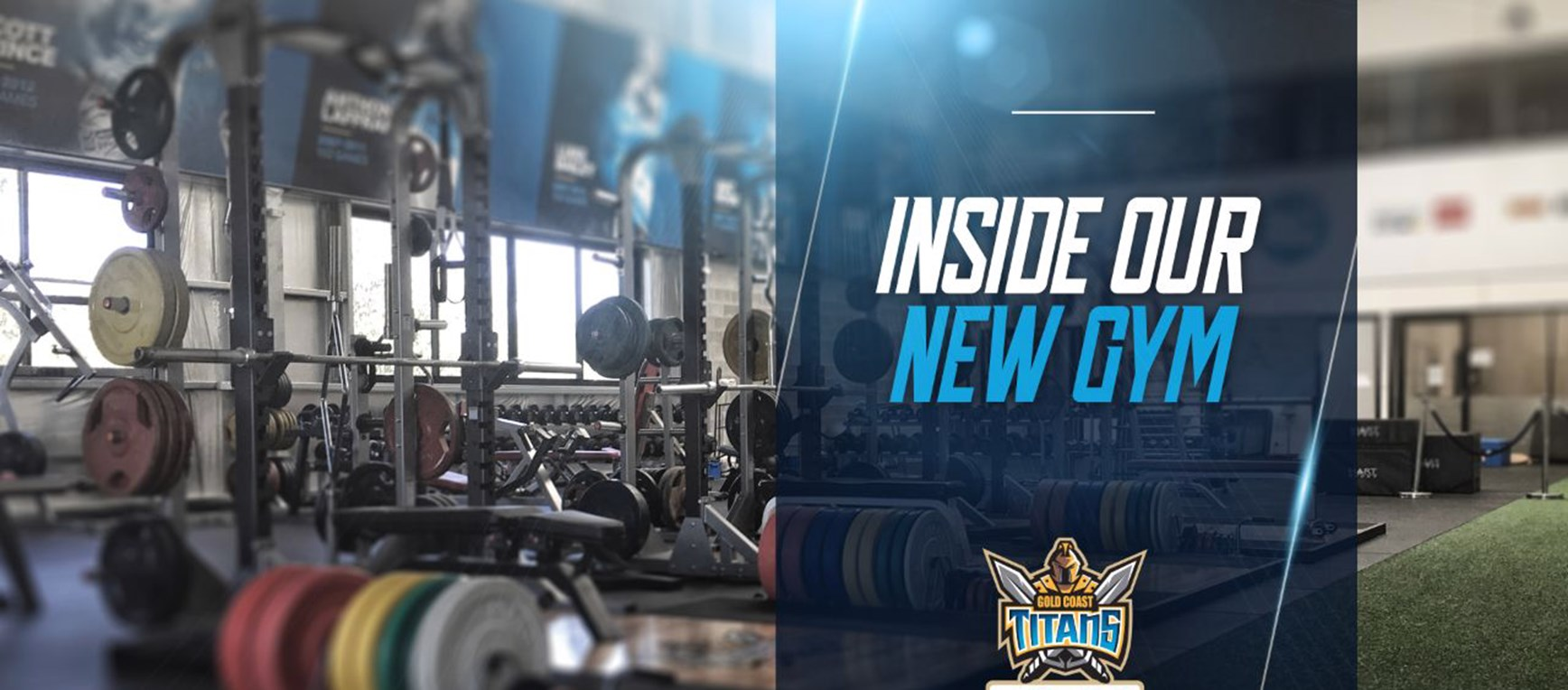 SNEAK PEEK: Take a look inside our new Gym