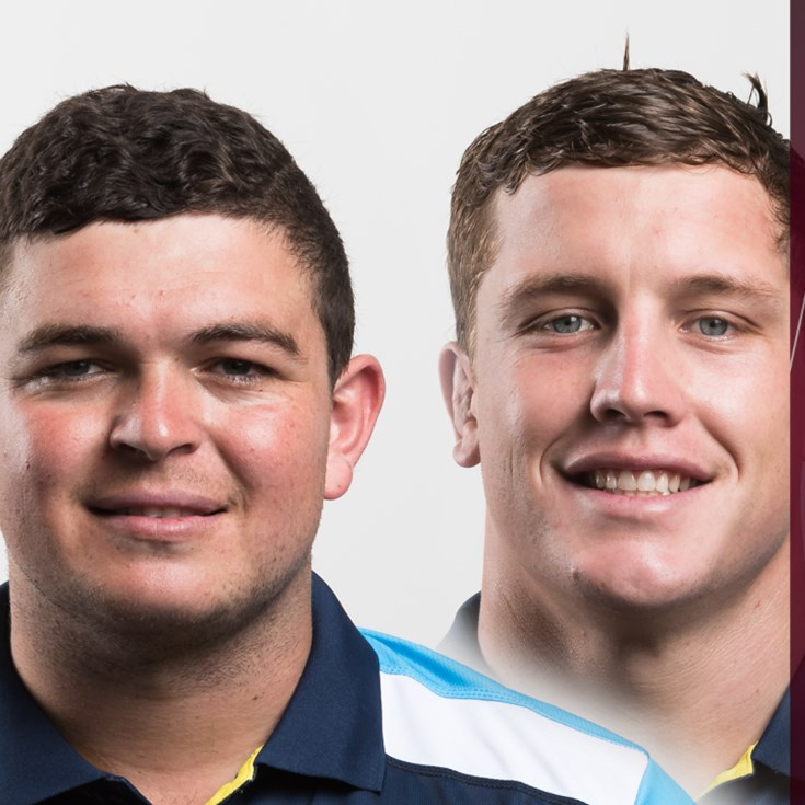 Taylor and Wallace named in Emerging Maroons