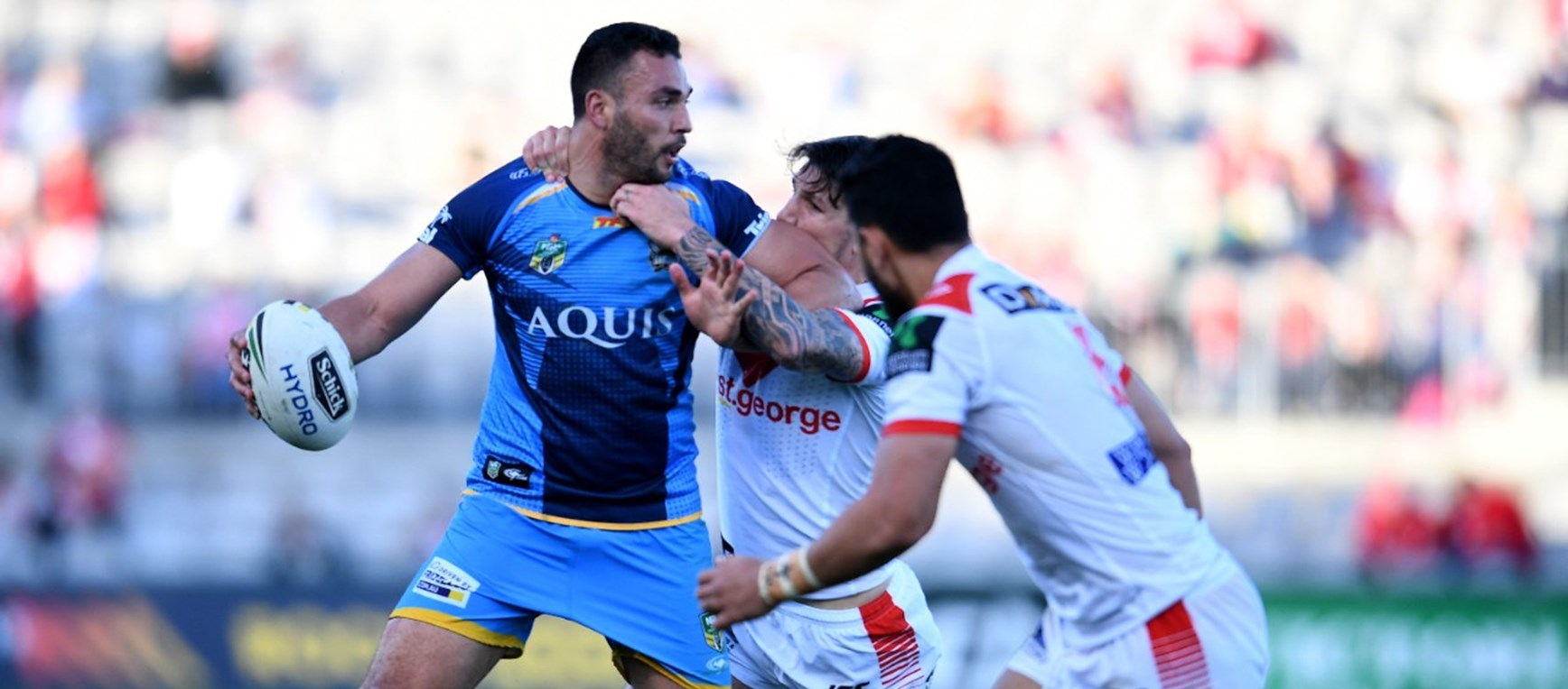 GALLERY: Dragons v Titans