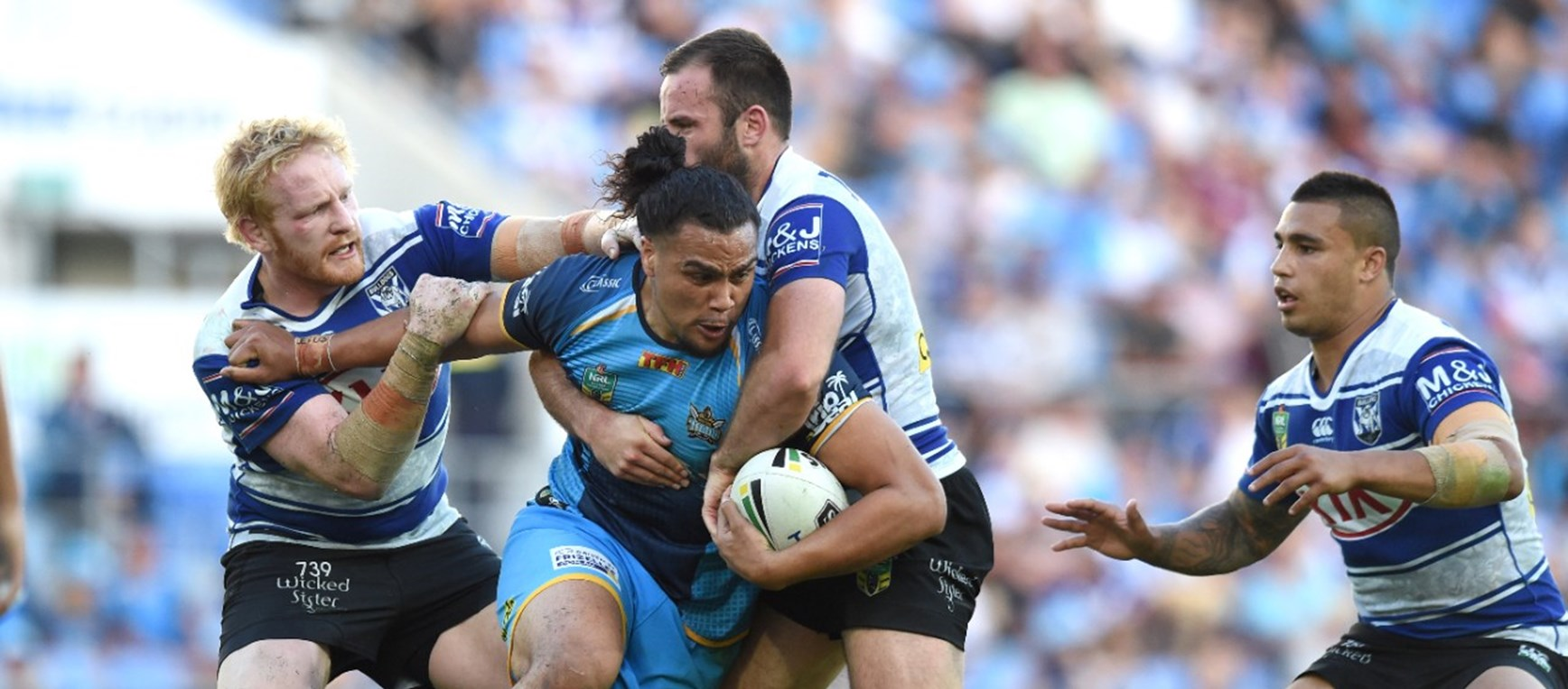 GALLERY: Titans v Bulldogs