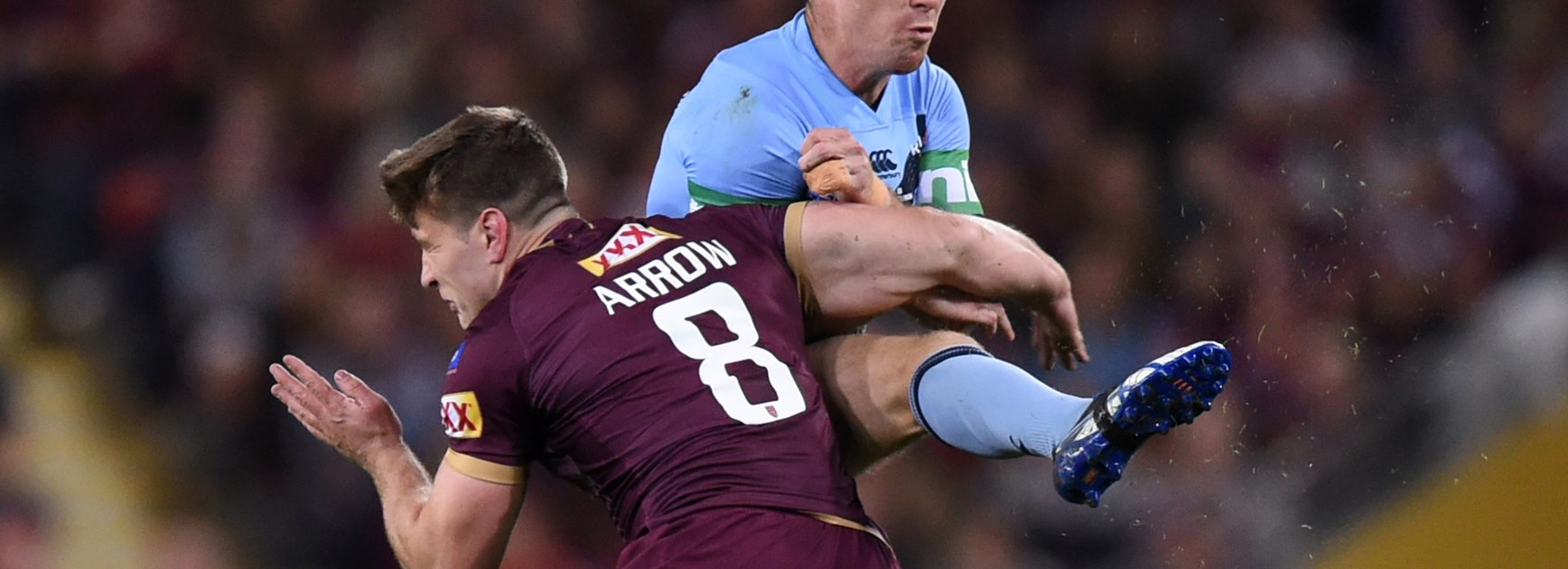 Maroons send Slater out a winner with victory over Blues