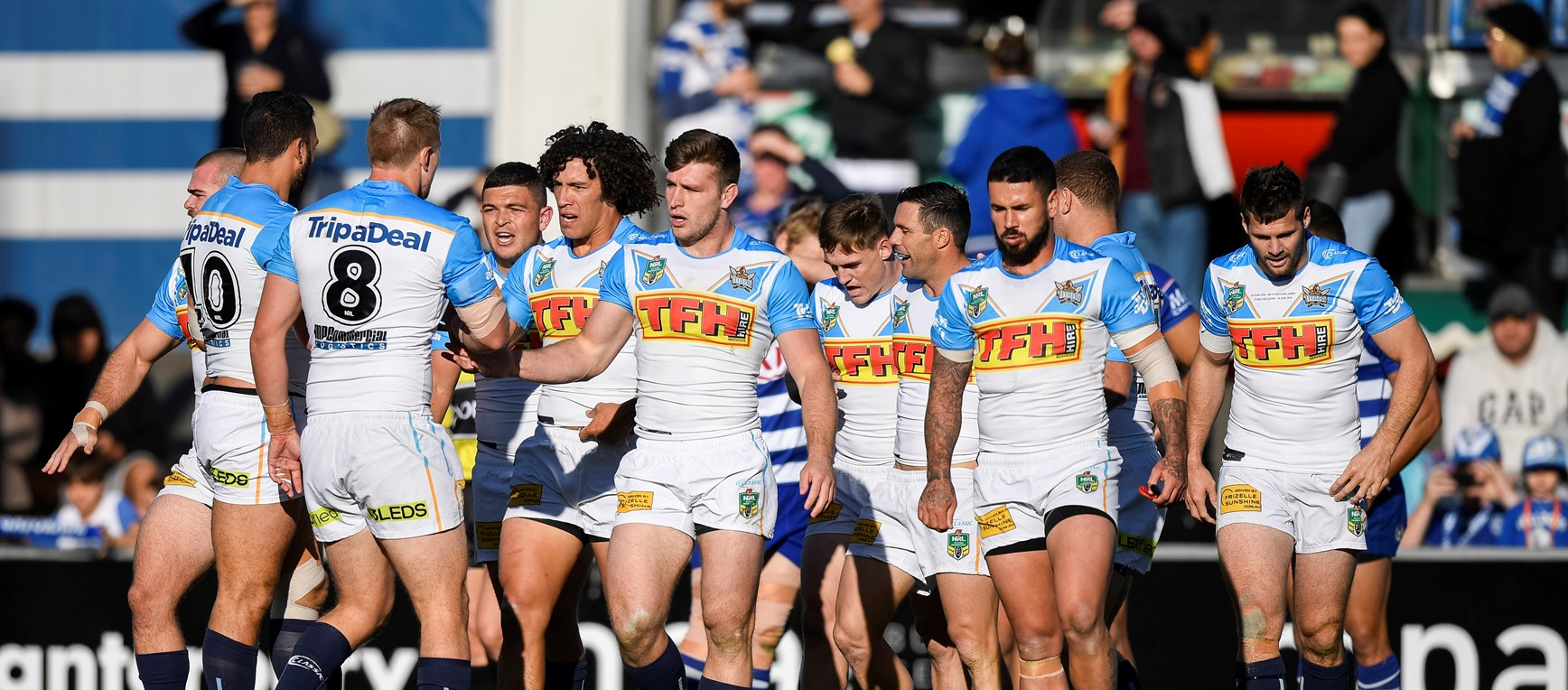 GALLERY: Bulldogs v Titans