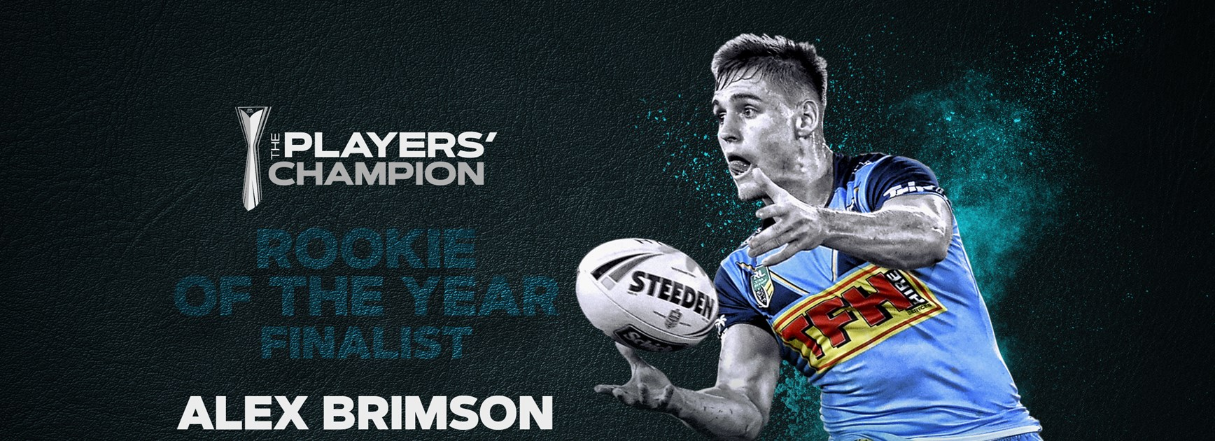 Brimson nominated for RLPA 'Rookie of the Year'
