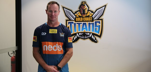 Titans Coaches Turn Up The Intensity Before Time Off