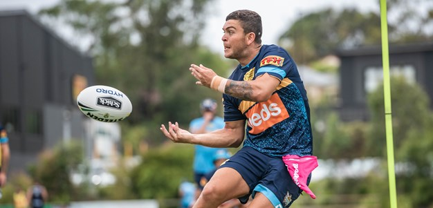 Four Titans to attend QLD camp
