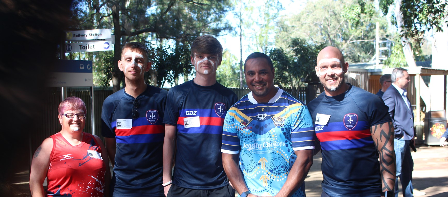 Special Visit from Wakefield Trinity at DreamWorld