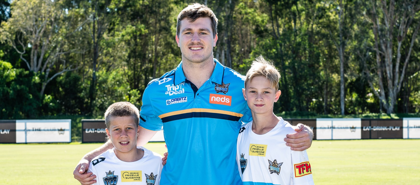 The Gold Coast Titans Under 12 Experience Day