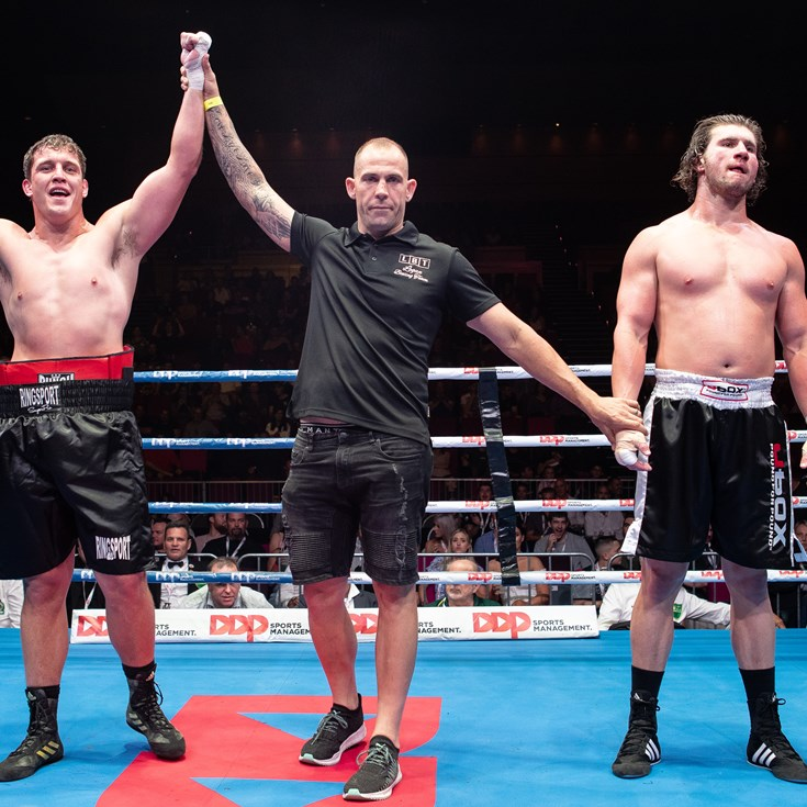 Fit, Fast and Furious: Titans Star Wallace Wins In Boxing Debut