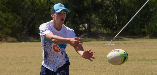 TEDS players put through their paces at annual camp