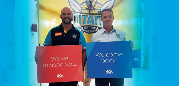 Titans welcome Sydney and Victorian passengers back to Gold Coast Airport