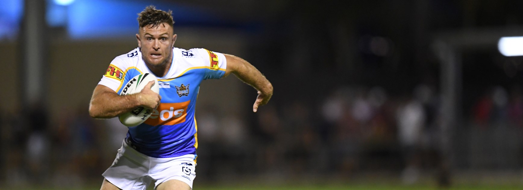 Terrific Titans Bury Broncos In Final Trial Match In Redcliffe
