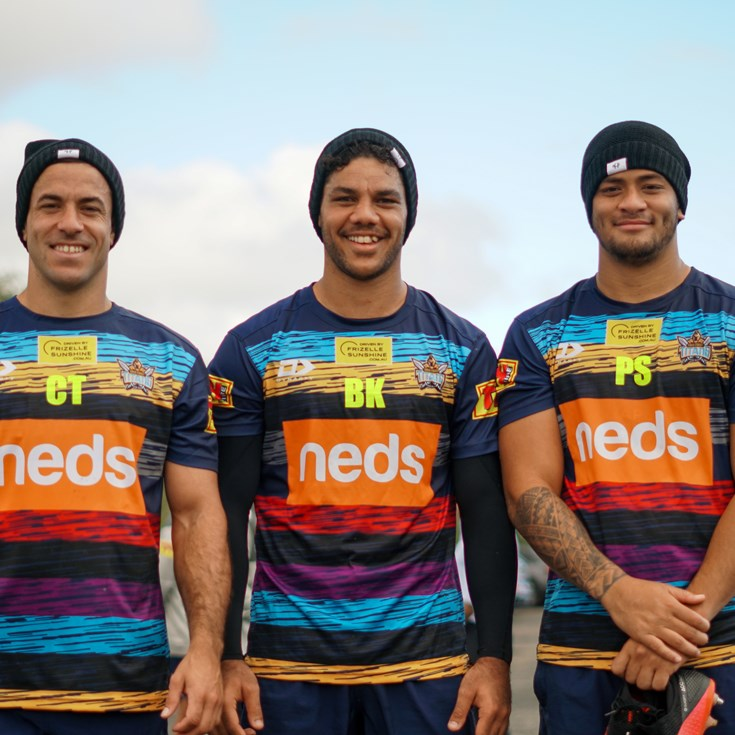 Titans Proud To Support NRL's Beanies For Brain Cancer Round